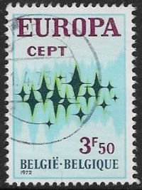 Belgium SG2271 1972 Europa 3f.50 good/fine used